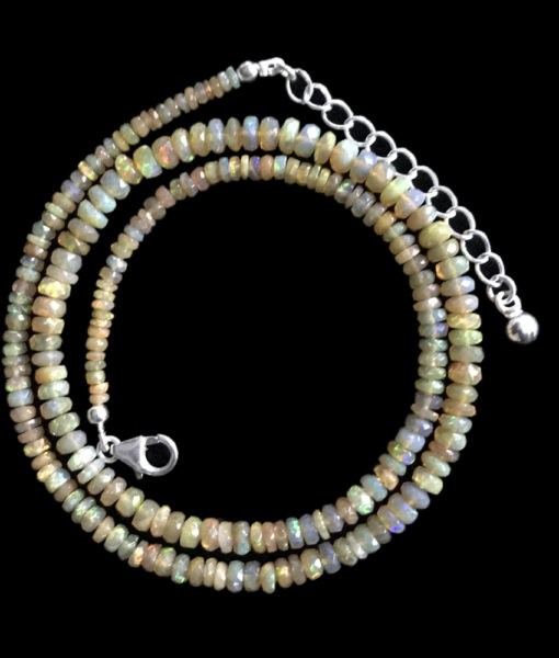 Opal Beads Necklace-1